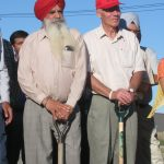 Gerhard Friesen and Major Singh Gill